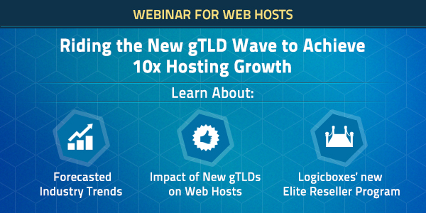 Riding the New gTLD wave to achieve 10x hosting growth